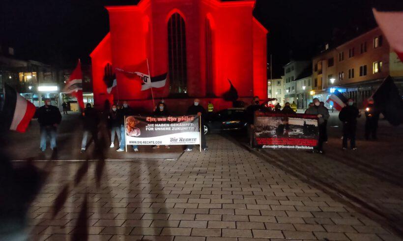 Trauermarsch in Zweibrücken.