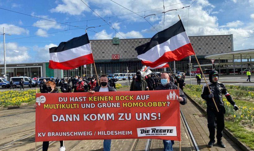 Aktionstag in Braunschweig.