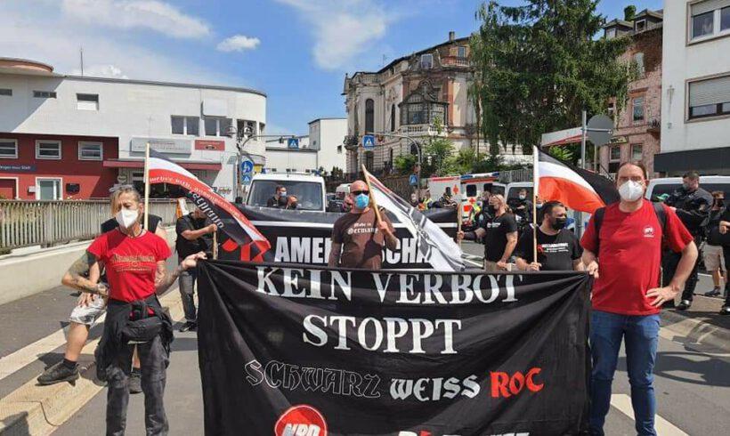 Kein Verbot stoppt Schwarz-Weiß-Rot! Antideutsche Hetze und Polizeiwillkür in Bingen am Rhein!