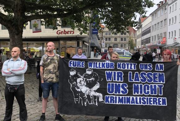 SEK-Überfall auf den Kreisvorstand von DIE RECHTE  Braunschweig/ Hildesheim
