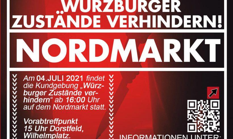 Aufruf zur Kundgebung in Dortmund (4. Juli 2021)
