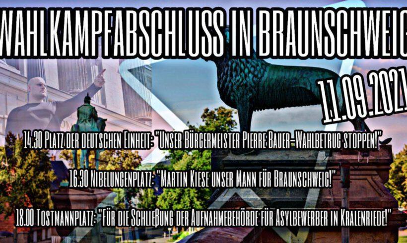 11. September 2021 – Wahlkampfabschluss in Braunschweig
