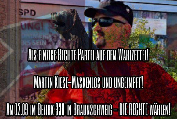 Braunschweig: Wahlbezirk 330 wählt Martin Kiese!