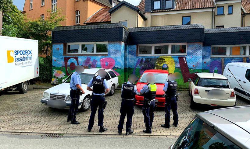 Dortmunds bekannteste Wand sorgt wieder für Aufregung bei der Polizei