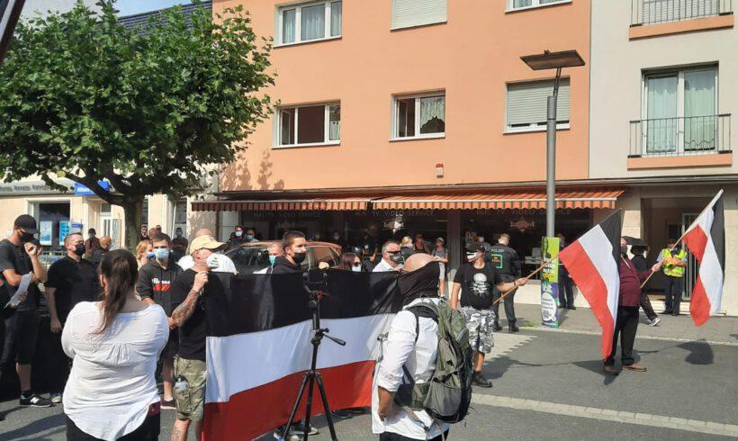 Mord verjährt nicht! Gebt die Akte frei! Erfolgreiche Demonstration in Ingelheim!